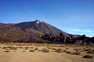 Teide is an active volcano with a 12,000+ foot summit!