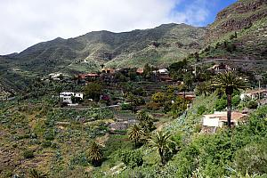 The village of Los Gigantes