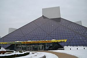 While in Cleveland, we checked out the Rock and Roll Hall of Fame.
