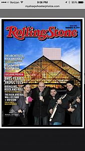 We made the cover of Rolling Stone  magazine!