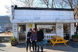 We had lunch at Rick's White Light Diner, which was featured on Diner's, Drive-In's, and Dives