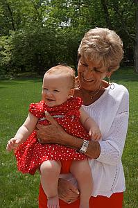 Capri with Great Nana Rosie
