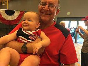 Papa Larbes and Capri at Reds fest.