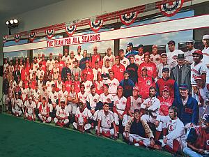 Lots of Reds all stars. Very cool photo.