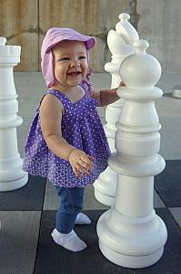 Capri is a master at chess.