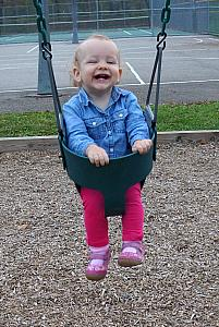 Loving the swings
