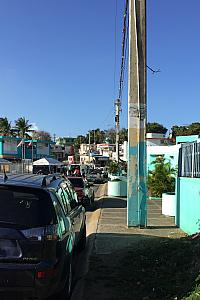 Walking in our Vieques village